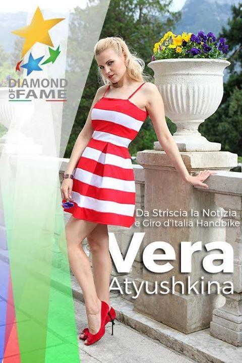 "Vera Atyushkina al ""Diamond of Fame"""