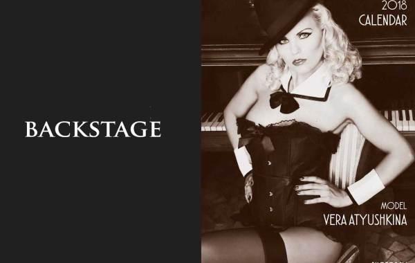 Backstage Calendario Hollywoodland 2018
