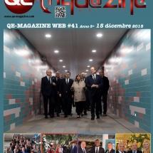 QE MAGAZINE MONTECARLO # 41 del 15 dic 2018 - copertina
